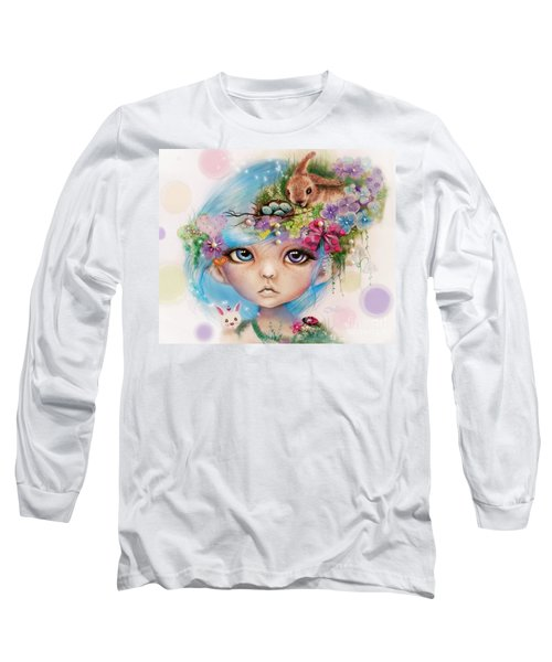 Eliza - Easter Elf - Munhkinz Character Long Sleeve T-Shirt