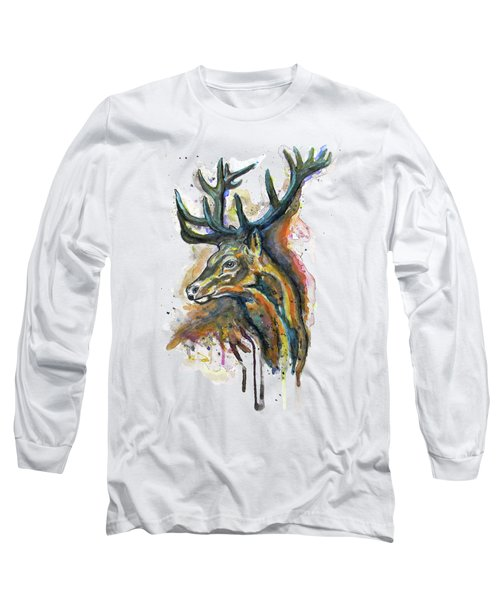 Elk Head Long Sleeve T-Shirt