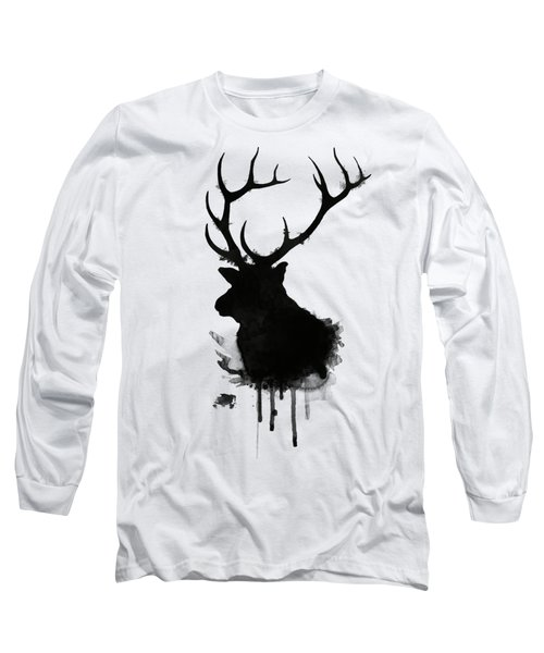 Elk Long Sleeve T-Shirt by Nicklas Gustafsson