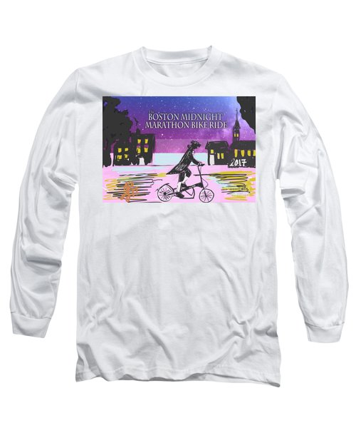 Elliptigo Arc On The Midnight Ride Long Sleeve T-Shirt