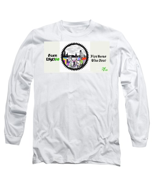 elliptiGO meets the 5 boros bike tour Long Sleeve T-Shirt