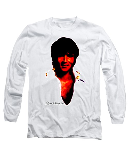 Elvis By Loxi Sibley Long Sleeve T-Shirt by Loxi Sibley