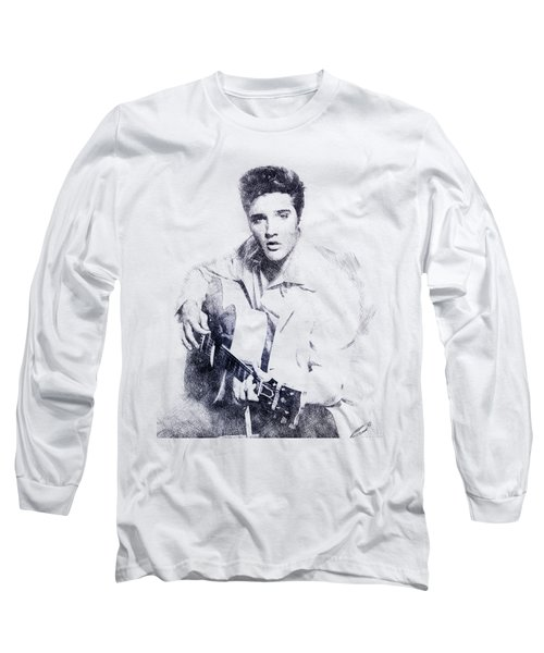 Elvis Presley Portrait 01 Long Sleeve T-Shirt