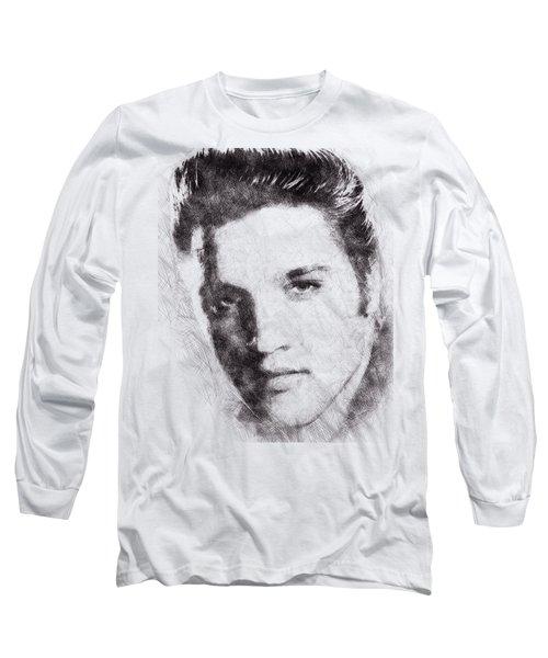 Elvis Presley Portrait 02 Long Sleeve T-Shirt