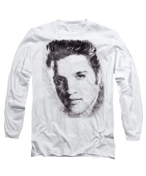 Elvis Presley Portrait 02 Long Sleeve T-Shirt