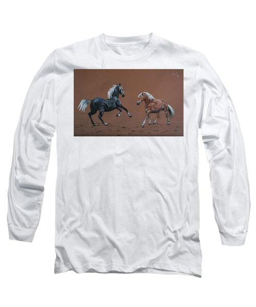 Elza And Biba Long Sleeve T-Shirt