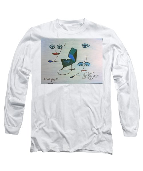 Embellishment Long Sleeve T-Shirt