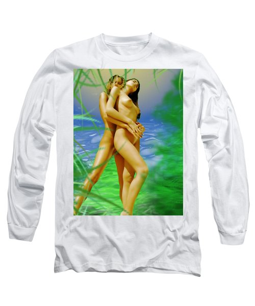 Embraced Long Sleeve T-Shirt by Tbone Oliver