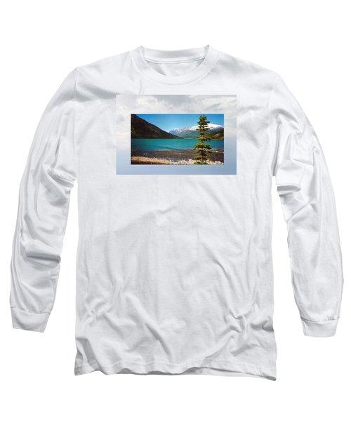 Emerald Lake Chilkoot Trail Alaska Long Sleeve T-Shirt