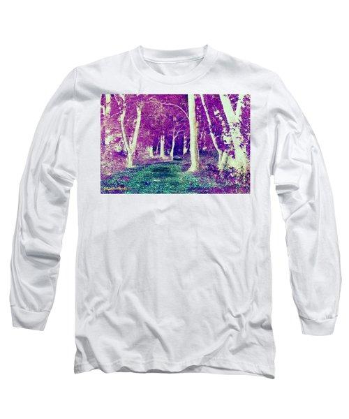 Emerald Path Long Sleeve T-Shirt