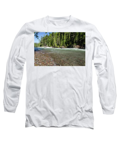 Emerald Waters Flow Long Sleeve T-Shirt