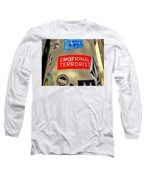 Emotional Terrorist In New York  Long Sleeve T-Shirt