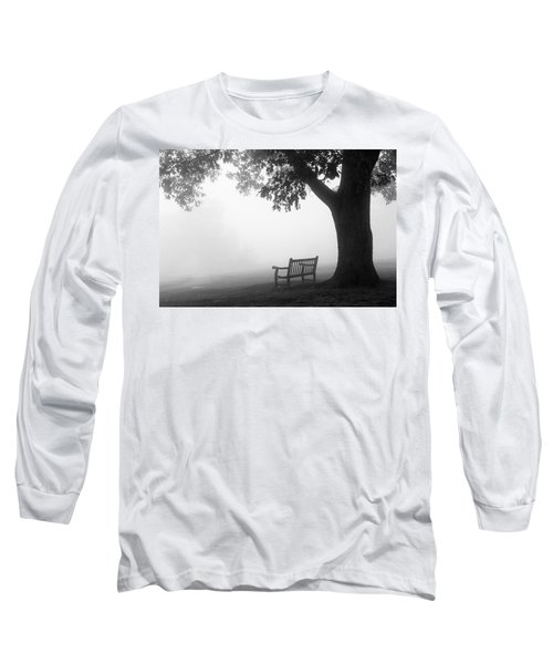 Empty Bench Long Sleeve T-Shirt by Monte Stevens