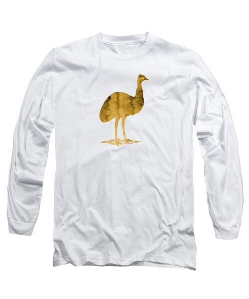 Emu Long Sleeve T-Shirt by Mordax Furittus