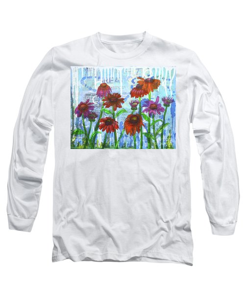 Enchanting Echinacea Long Sleeve T-Shirt