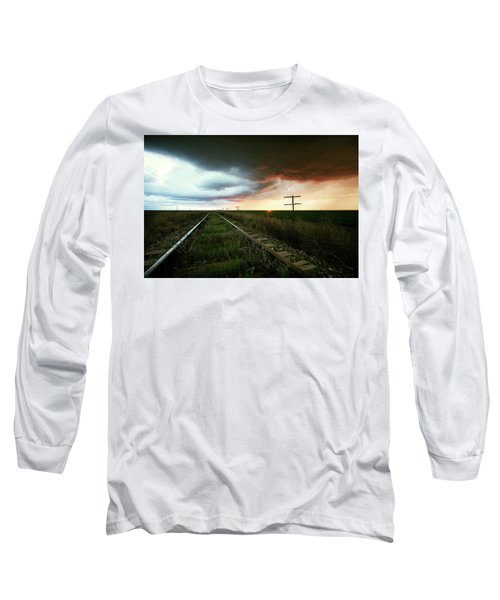 End Of A Stormy Day Long Sleeve T-Shirt