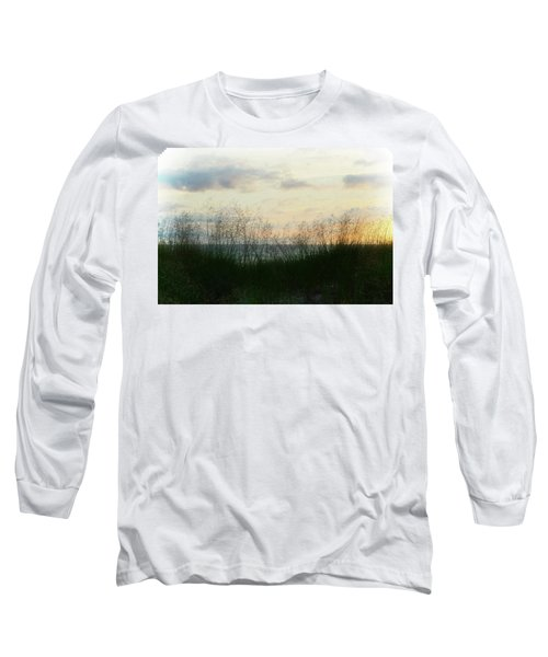 Long Sleeve T-Shirt featuring the photograph End Of Day At Pentwater by Michelle Calkins