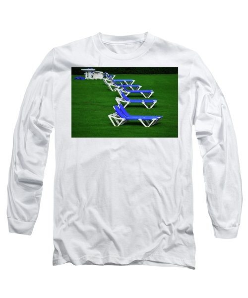 Long Sleeve T-Shirt featuring the photograph End Of Season II by Richard Ortolano