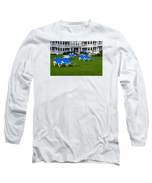 Long Sleeve T-Shirt featuring the photograph End Of Season 3 by Richard Ortolano