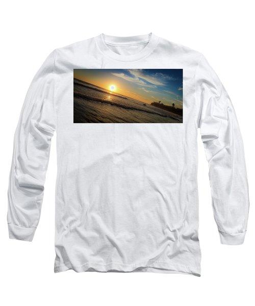 End Of Summer Sunset Surf Long Sleeve T-Shirt