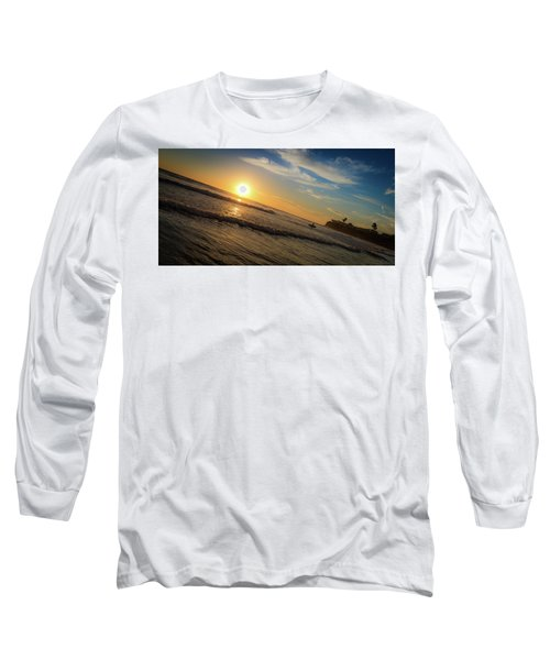 End Of Summer Sunset Surf Long Sleeve T-Shirt
