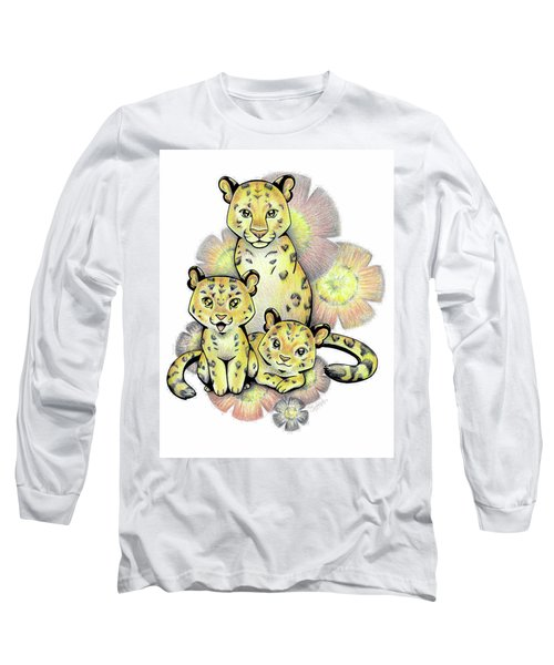 Endangered Animal Amur Leopard Long Sleeve T-Shirt