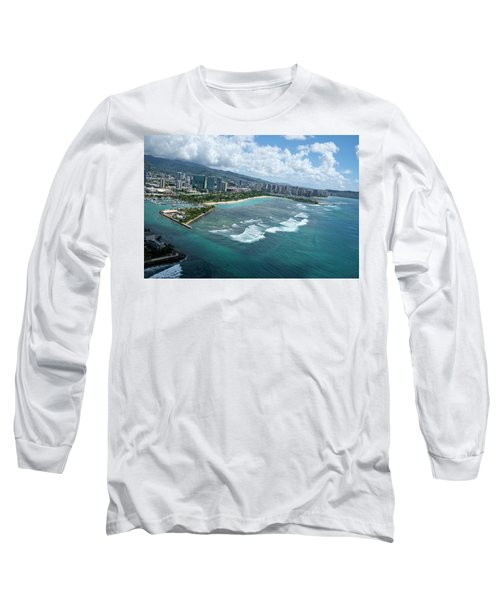Endless Summer Long Sleeve T-Shirt by Lucinda Walter
