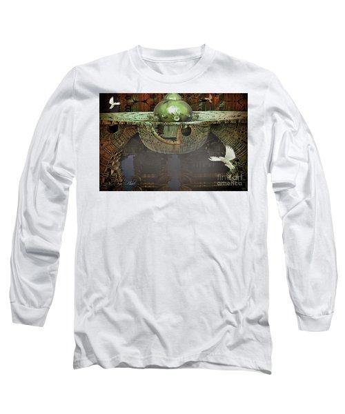 Engine Room Fractal Long Sleeve T-Shirt