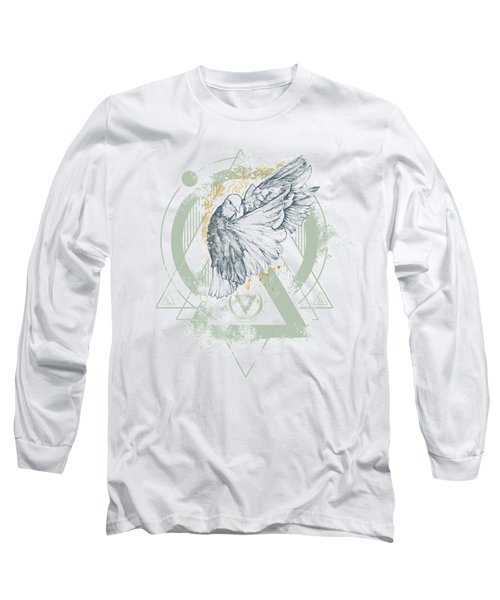 Enigma Long Sleeve T-Shirt by Chad Lonius