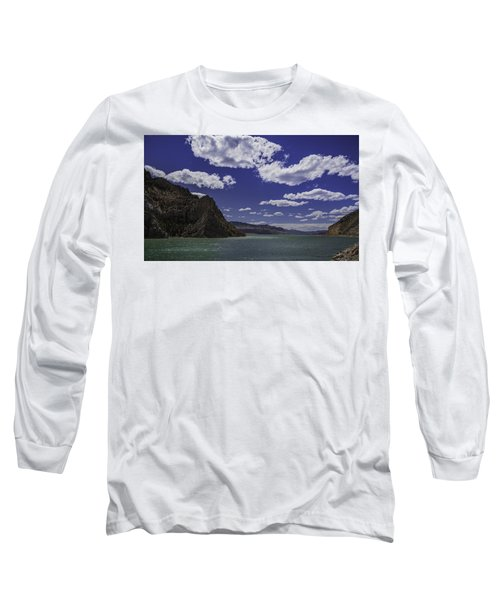 Entering Yellowstone National Park Long Sleeve T-Shirt by Jason Moynihan
