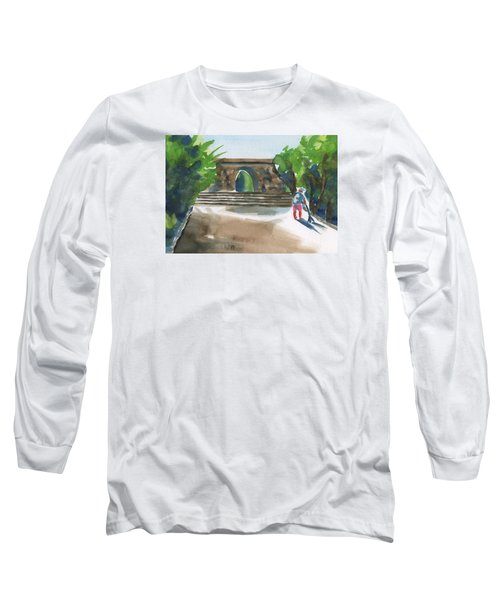Entrance At Chankanaab Long Sleeve T-Shirt