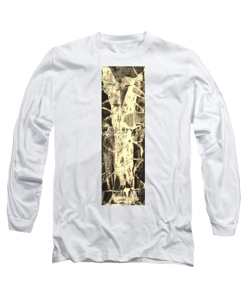 Long Sleeve T-Shirt featuring the painting  Equity by Carol Rashawnna Williams