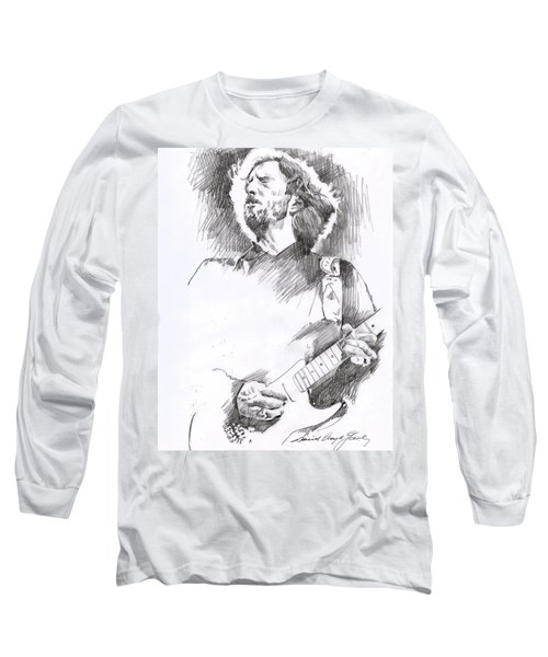 Eric Clapton Sustains Long Sleeve T-Shirt