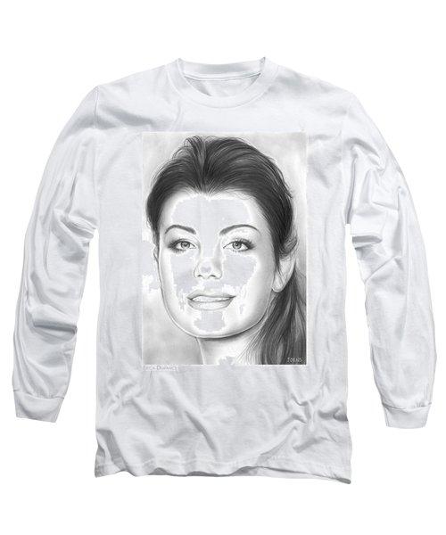 Erica Durance Long Sleeve T-Shirt