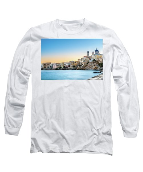Ermoupoli - Syros / Greece. Long Sleeve T-Shirt by Stavros Argyropoulos