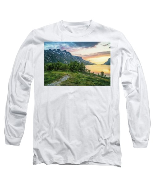 Ersfjord Sunset Long Sleeve T-Shirt