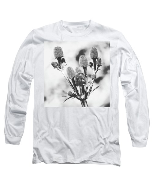 Eryngium #flower #flowers Long Sleeve T-Shirt