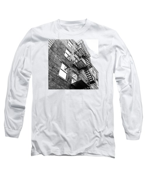 Long Sleeve T-Shirt featuring the photograph Escape by Wade Brooks