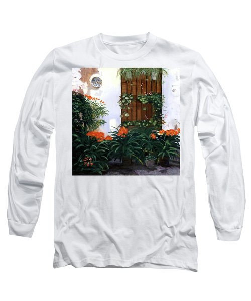Long Sleeve T-Shirt featuring the painting Espana by Lynne Reichhart