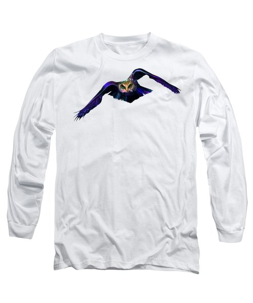 Et Owl Enters City Long Sleeve T-Shirt