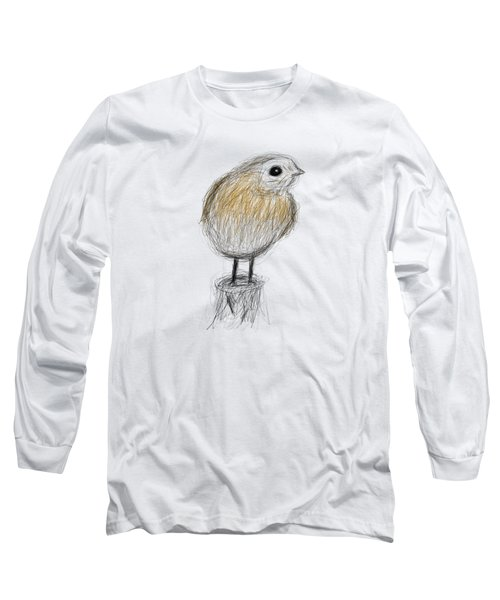 Etching 24 - Cold Morning Long Sleeve T-Shirt