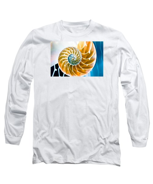 Long Sleeve T-Shirt featuring the photograph Eternal Golden Spiral by Colleen Kammerer