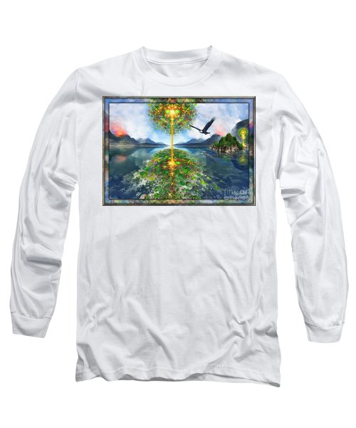 Etheric Lake Long Sleeve T-Shirt