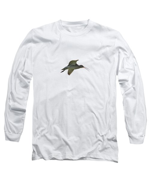 Eurasian Curlew Transparent Long Sleeve T-Shirt
