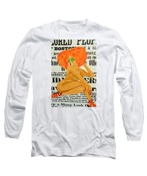 Eve  Caution Long Sleeve T-Shirt by Deedee Williams