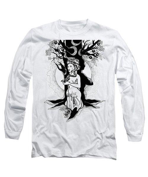 Eve Long Sleeve T-Shirt by Yelena Tylkina