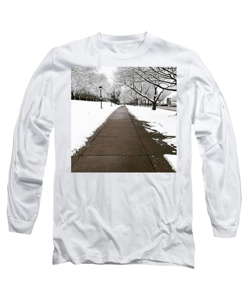 Winter Walks  Long Sleeve T-Shirt by Cyrionna The Cyerial Artist