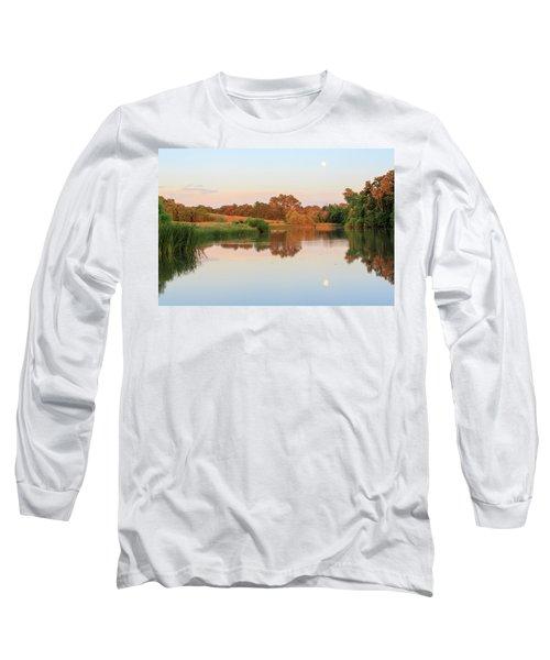 Evening At The Lake Long Sleeve T-Shirt