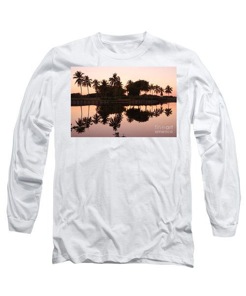 Evening In Pink Long Sleeve T-Shirt