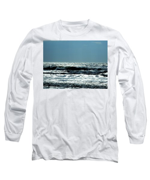 Long Sleeve T-Shirt featuring the photograph Evening Light by Cathy Harper